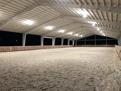 New covered arena!